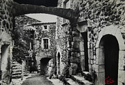 Another Residence In Childhood Alba France Ardeche Print by Colette V Hera  Guggenheim