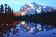 Picture Lake Posters - Another Shuksan Reflection Poster by Todd Kreuter