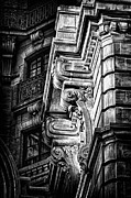 Ansonia Building Detail 1 Print by Val Black Russian Tourchin