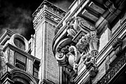 Ansonia Building Detail 41 Print by Val Black Russian Tourchin