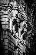 Ansonia Building Detail 9 Print by Val Black Russian Tourchin