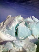Research Photo Originals - Antarctic Landscape 142 by David Barringhaus