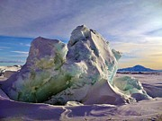 Research Photo Originals - Antarctic Landscape 146 by David Barringhaus