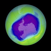 24th Framed Prints - Antarctic Ozone Hole, 2006 Framed Print by Nasa