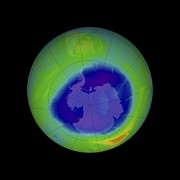 2009 Prints - Antarctic Ozone Hole, 2009 Print by Nasa