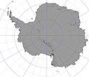Cartography Photos - Antarctica by Stocktrek Images