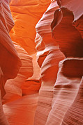 Canyons Prints - Antelope Canyon - Natures Art Gallery Print by Christine Till