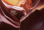 Light Touch Posters - Antelope Canyon Magic Of Light Poster by Bob Christopher
