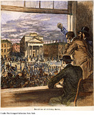 Trial Art - Anthony Burns Trial, 1854 by Granger