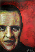 Anthony Hopkins Paintings - Anthony Hopkins by Brendon Taylor