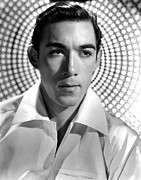 Publicity Shot Framed Prints - Anthony Quinn, Paramount Pictures, 1938 Framed Print by Everett