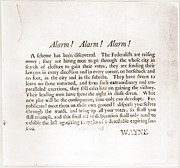Partisan Prints - Anti-federalist Republican Broadside Print by Everett