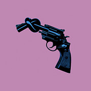 Anti Gun Print by Tim Bird