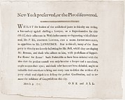 Partisan Prints - Anti-republican Broadside Of March 4 Print by Everett