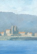 Impressionist Paintings - Antibes  by Alan Daysh