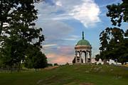 Antietam Maryland State Monument Print by Judi Quelland