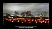 Candles Posters - Antietam Panorama Poster by Judi Quelland