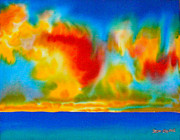 Clouds Tapestries - Textiles - Antigua by Daniel Jean-Baptiste