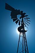 Farm Art - Antique Aermotor Windmill by Steve Gadomski