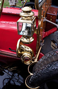 Brass Fittings Prints - Antique Automobile 7 Print by Robert Sander
