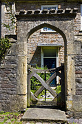 Garden Dor Photos - Antique Brick Archway by Heiko Koehrer-Wagner