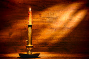 Artisan Photos - Antique Candlestick by Olivier Le Queinec