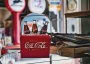 Antique Digital Art Prints - Antique Coke Light  Print by Sharon Foster