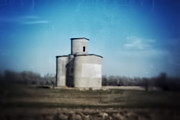 Antique Grain Elevator Print by Jeremy Linot