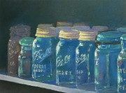 Ball Pastels - Antique Jars by Boyd Miller