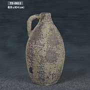 Rustic Ceramics - Antique jug by Thien Phu Fine Arts