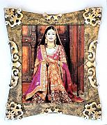 Antique Look Mixed Media - Antique metallic look wooden hand made frame by Jafar Ali