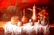 Moroccan Originals - Antique Moroccan Pots Still Life by Patricia Rachidi