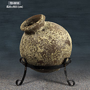 Photographs Ceramics - Antique Pottery Jar by Thien Phu Fine Arts