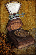 Weigh Photos - Antique Scale by John Stephens