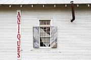 Overhang Posters - Antique Store Facade Poster by Jeremy Woodhouse