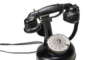 Communication Photos - Antique telephone  by Sami Sarkis