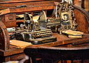 Editor Prints - Antique Typewriter Print by Paul Ward