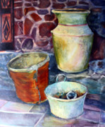 Antiques Paintings - Antiques by Dianne Lynne McDiarmid