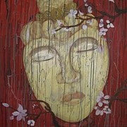 Sakura Paintings - Antiquity by Lorraine Toler