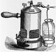 Antiseptic Prints - Antiseptic Sprayer, 1882 Print by Science Source
