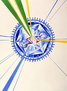 Action Art Posters - Antiviral Drug Attacking A Herpes Simplex Virus Poster by John Bavosi
