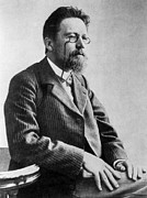 Anton Photos - Anton Chekhov, 1901 by Everett