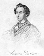 Autograph Art - Antonin Carme (1783-1833) by Granger