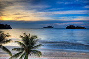 Thai Prints - Ao Manao Bay Print by Adrian Evans