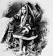 Granddaughter Posters - Apache Girl, 1886 Poster by Granger
