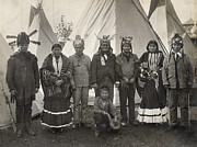 World Leader Photo Prints - Apache Group, 1904 Print by Granger