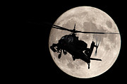 Jason Smith Prints - Apache in the Moonlight Print by Jason Smith