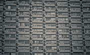 Conformity Photos - Apartment Windows by Tomomi