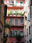 Ally Photos - Apartments in Rome by Cyndi Cates