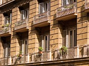 Residential Structure Prints - Apartments, Italy Print by Design Pics / Keith Levit